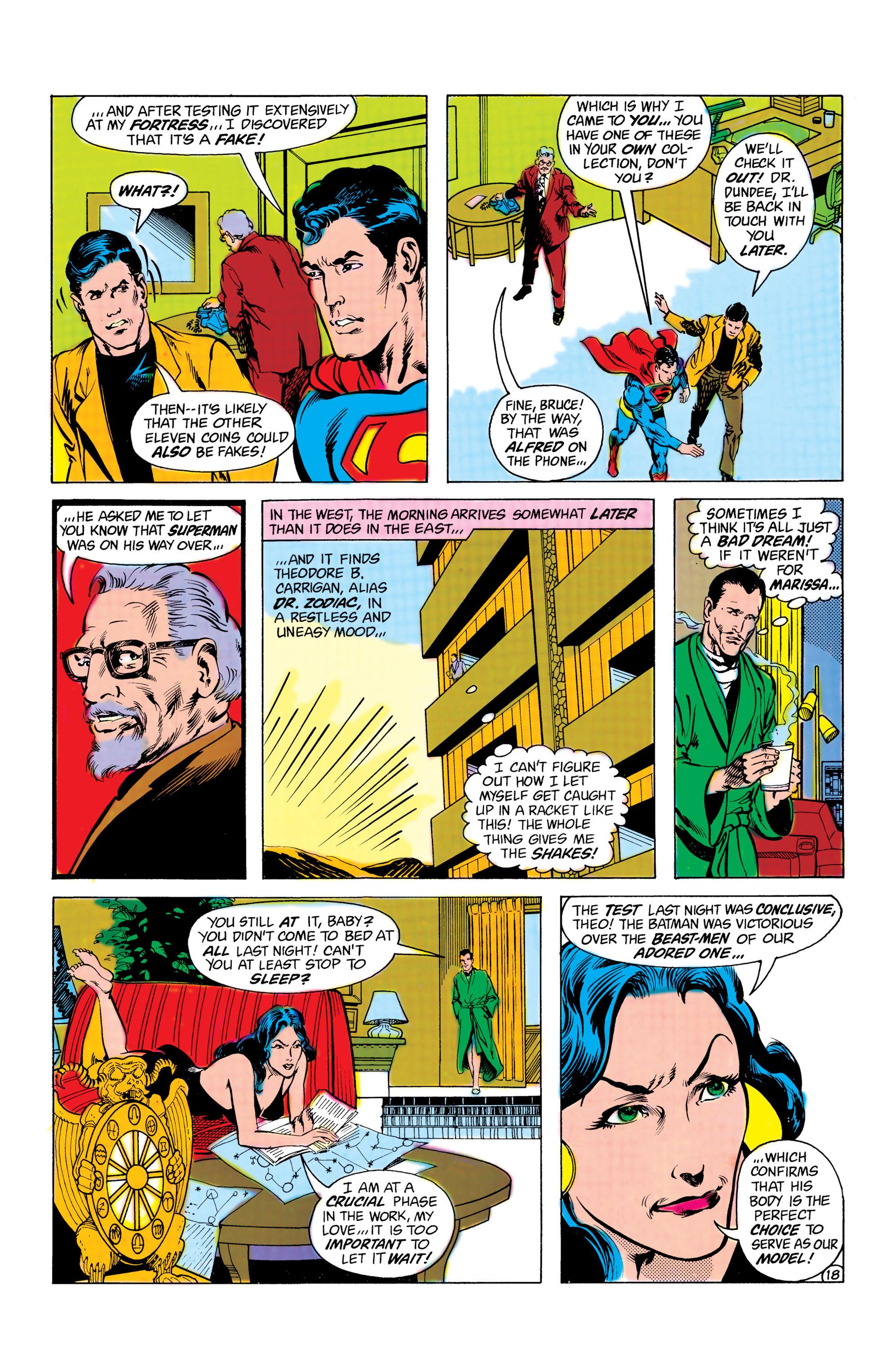 Read online World's Finest Comics comic -  Issue #285 - 19
