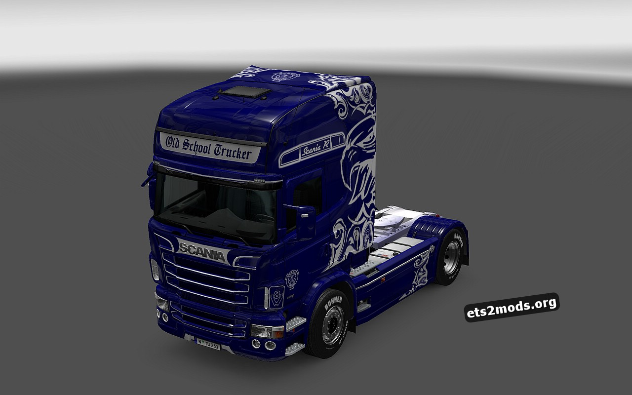 Scania RJL Old School Trucker Skin