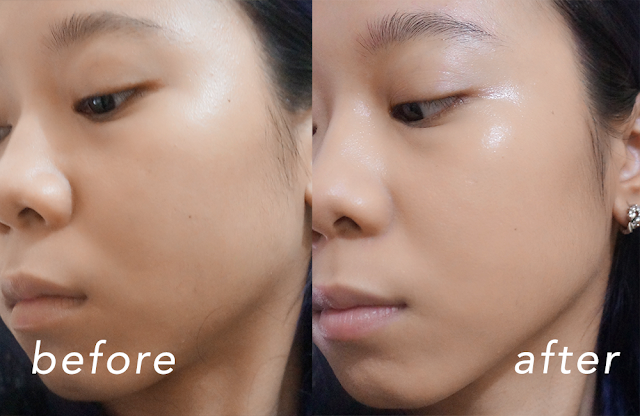 review mizzu cushion foundation before after