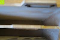 innen: Eurosell Holz Schreibtischorganizer Brief Post Ablage Briefablage Postablage Briefständer Vintage Retro Design Designer Dokumenten Prospekte Ständer