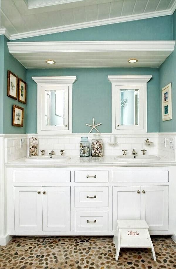banos color azul   Decorar tu casa es facilisimo.com