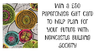 win a £50 Paperchase gift card with Newcastle Building Society