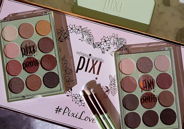 Eye reflection shadow palette pixi by petra