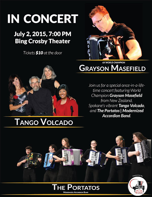 The Portatos | Official Website: UPCOMING CONCERT: Classical to Tangos!  Featuring world champion Grayson Masefield, Tango Volcado, and The Portatos!