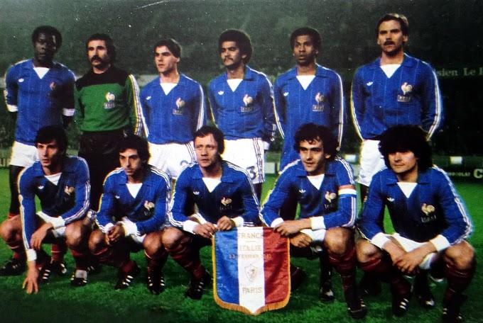 FRANCE-Italie 1982.