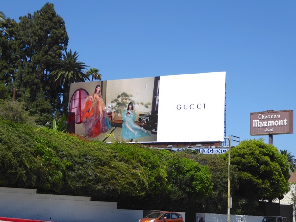 Gucci Pop Summer 2016 fashion billboard