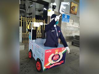 'Captain Arjun' an AI Robot—By Central Railway