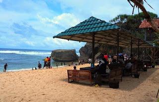 Pesona Pantai Indrayanti Jogja