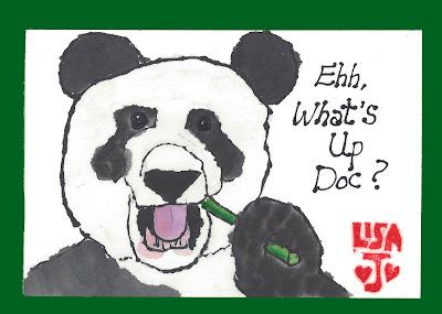 Panda humor