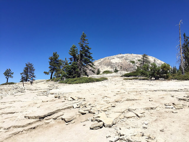Hiking Sentinel Dome
