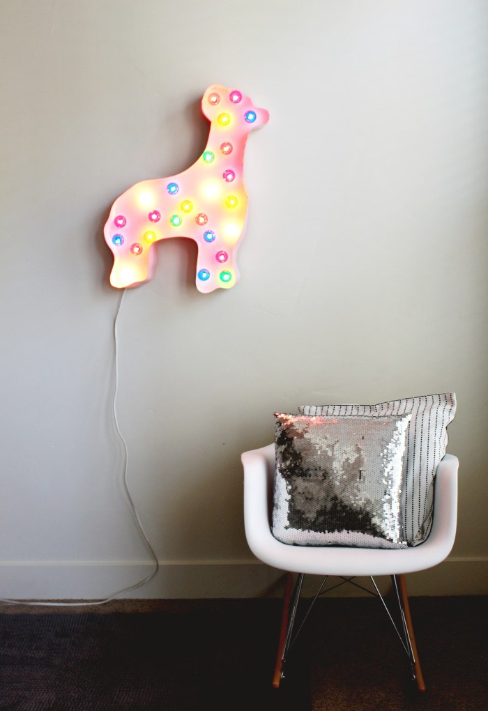 Things We Heart - Circus Animal Cookies from Honey and Smoke Studio - Circus Animal Cookie Marquee Light from A Joyful Riot