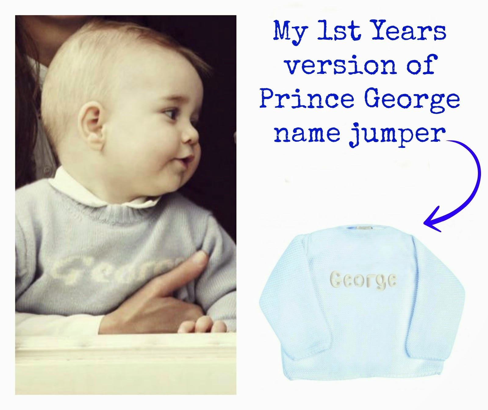 Have you heard of My 1st Years? | gifts | prince george jumper | personalised gifts | dressing gown for toddlers | gift ideas | baby gifts | new baby gifts | unique gift ideas | my first years | mamasVIB | personalised kids clothes | 1st birthday gifts | engraved | personal | kids | gifts | my first years |