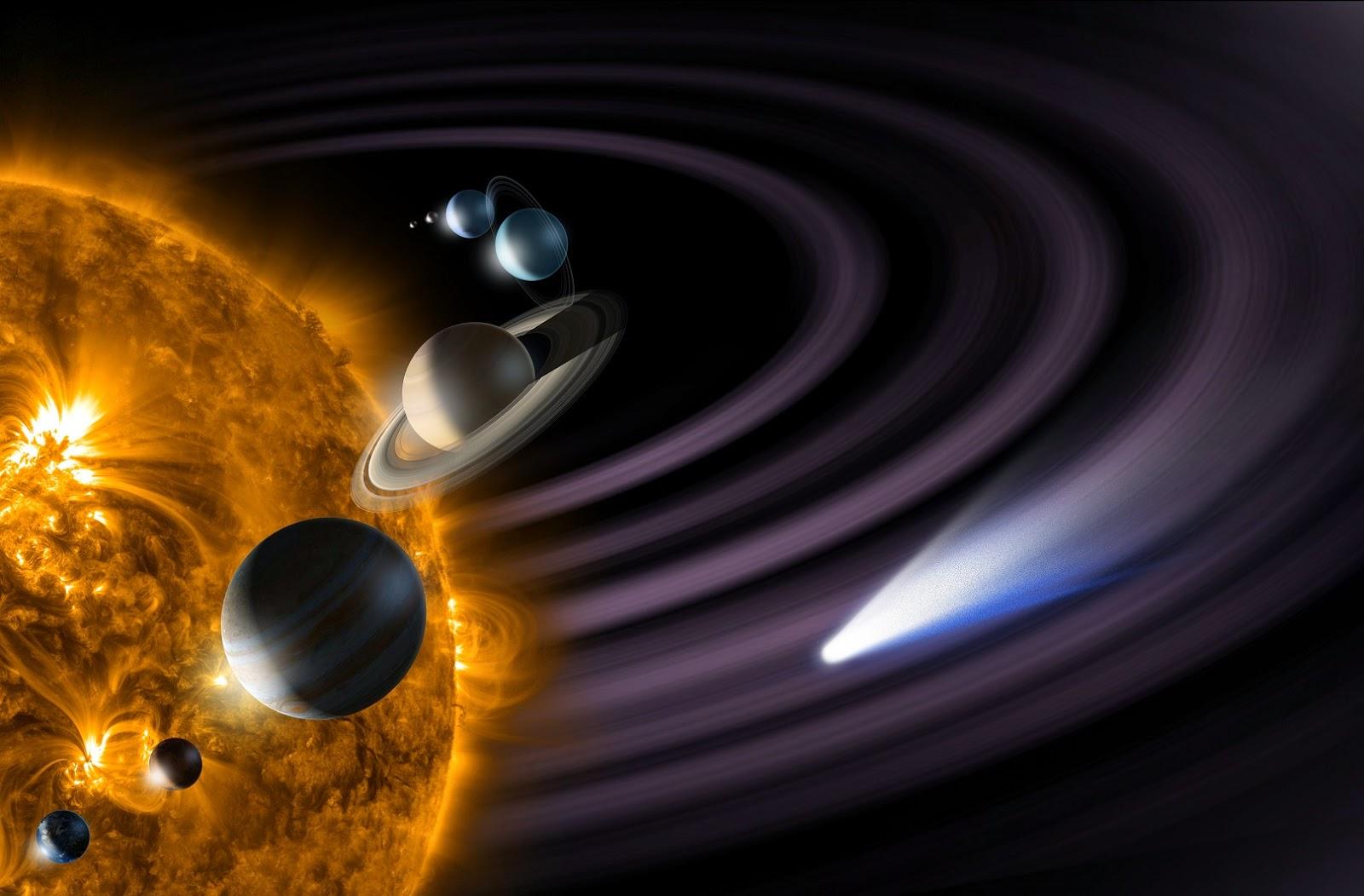 التنقل عبر النظام الشمسي
