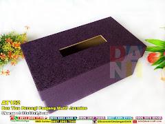 Box Tisu Persegi Panjang Motif Jasmine