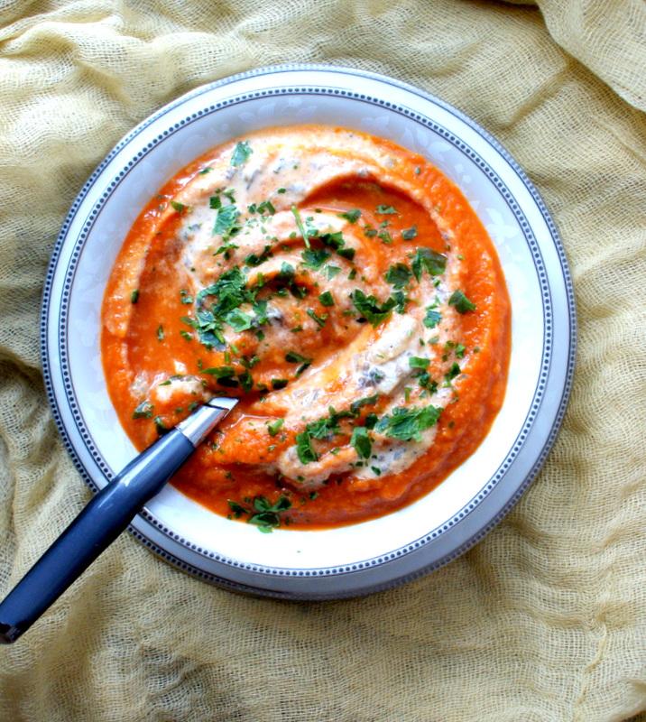 Z Kuchni Do Kuchni Szybka Zupa Chili Z Pomidorem Trawą