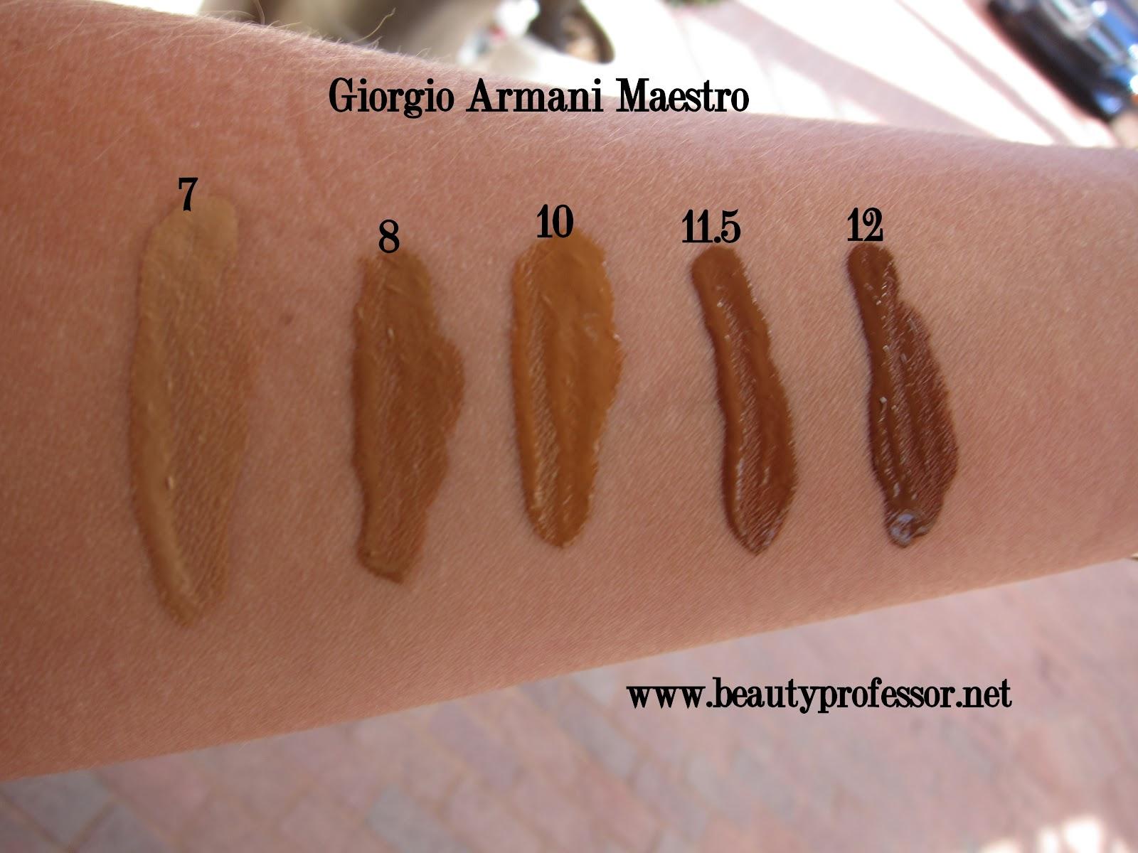 Beauty Professor Giorgio Armani Maestro Fusion Makeup