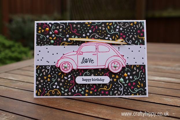 Beautiful Ride, Stampin' Up!, It's My Party