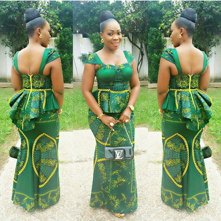 Elegant and New Kitenge designs