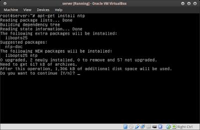 apt-get install ntp