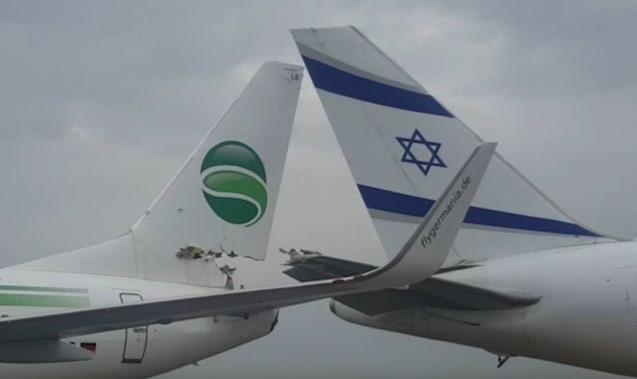 Volare sicuri: si scontrano due aerei in pista all'aeroporto di Tel Aviv (Israele)