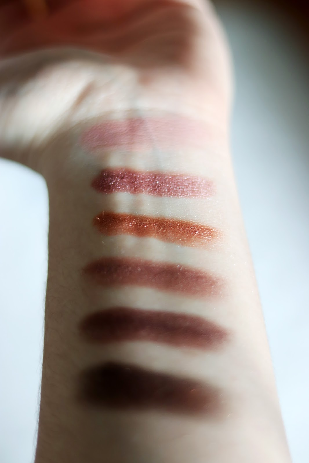 Revolution swatches