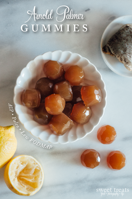 Arnold Palmer Gummies (AIP, Low FODMAP, Paleo)