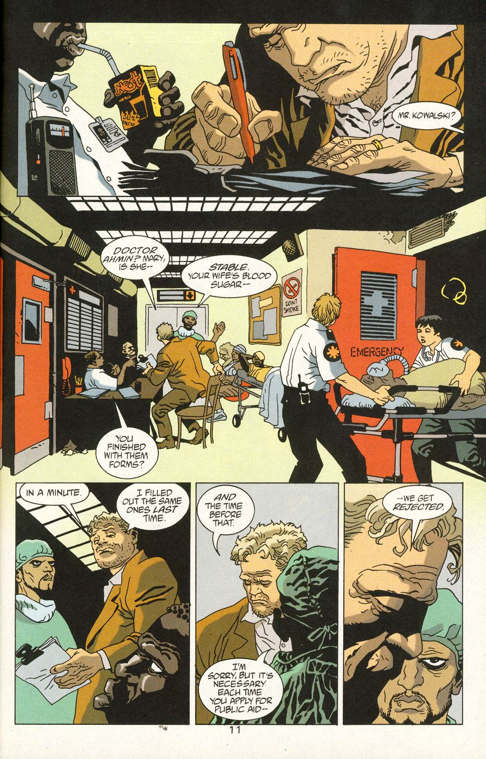 Read online 100 Bullets comic -  Issue #24 - 13