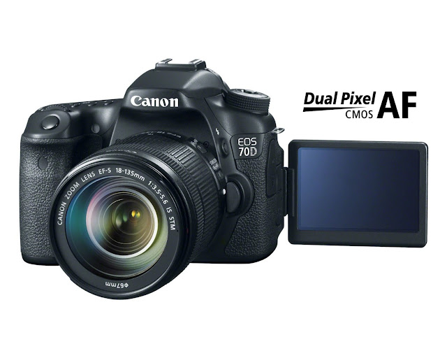 Canon EOS 70D - 18-135mm IS STM lens overview