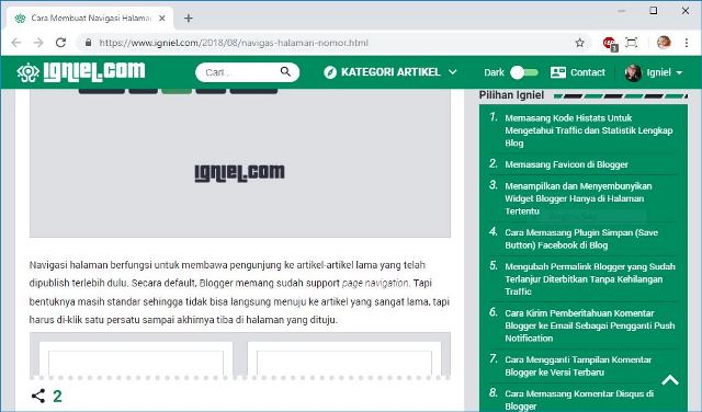 cara matikan kode anti adblock