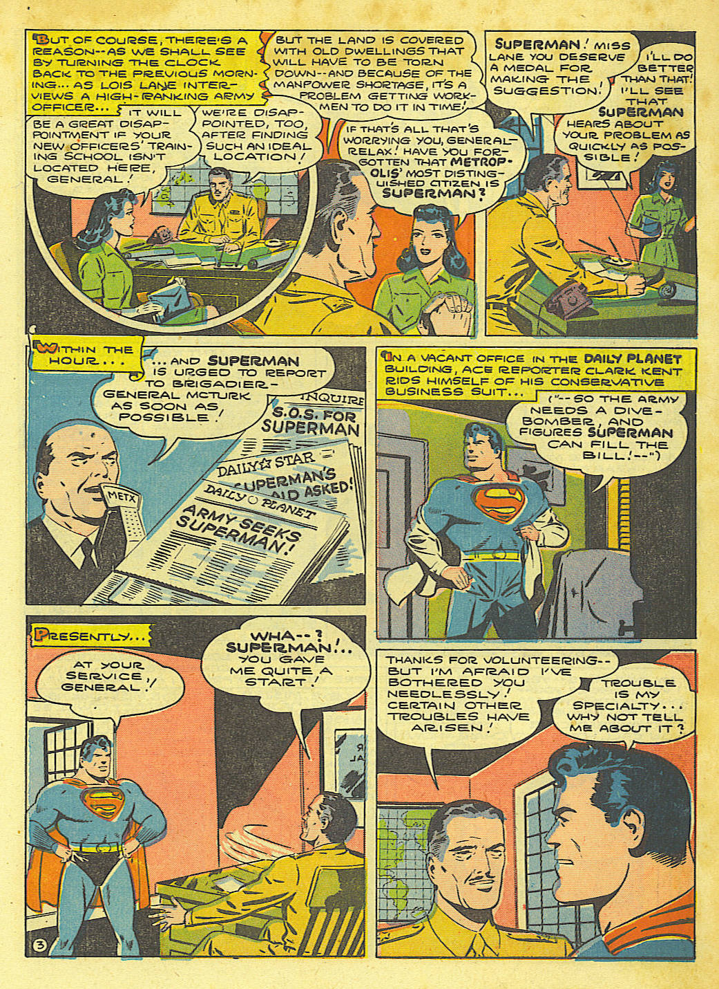 Read online Action Comics (1938) comic -  Issue #67 - 5
