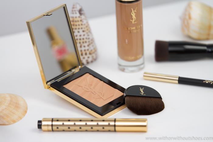 Mi Maquillaje de Verano efecto bronceado con productos YSL Yves Saint Laurent