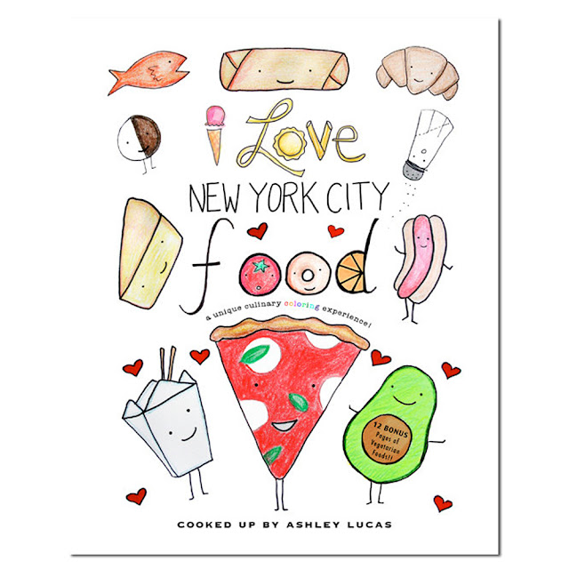 Day 3: I Love New York City Food Coloring Book Giveaway | Linzer Lane Blog