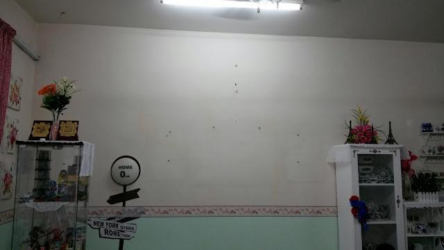 DIY Tampal Wall Paper Lepas Raya