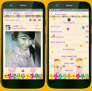 BBM Mod Princess V3.2.5.12 Apk