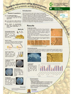 Discovering Myxomycetes: towards applications for bio-control