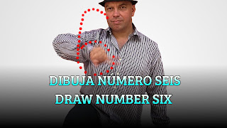 Gira la pierna y dibuja número seis con la mano, BRAIN DOMINANCE, Turn your leg and draw number six