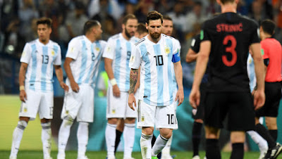MUNDIAL 2018: ARGENTINA 0 CROACIA 3