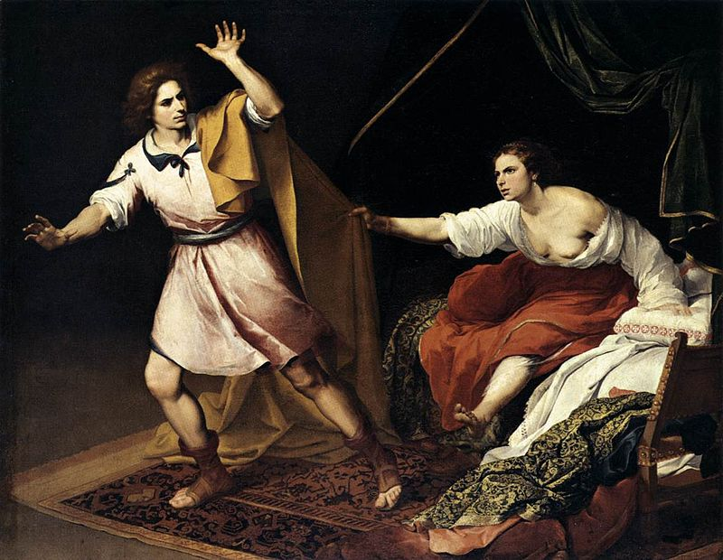 Joseph and Potiphar's Wife, c. 1640–45