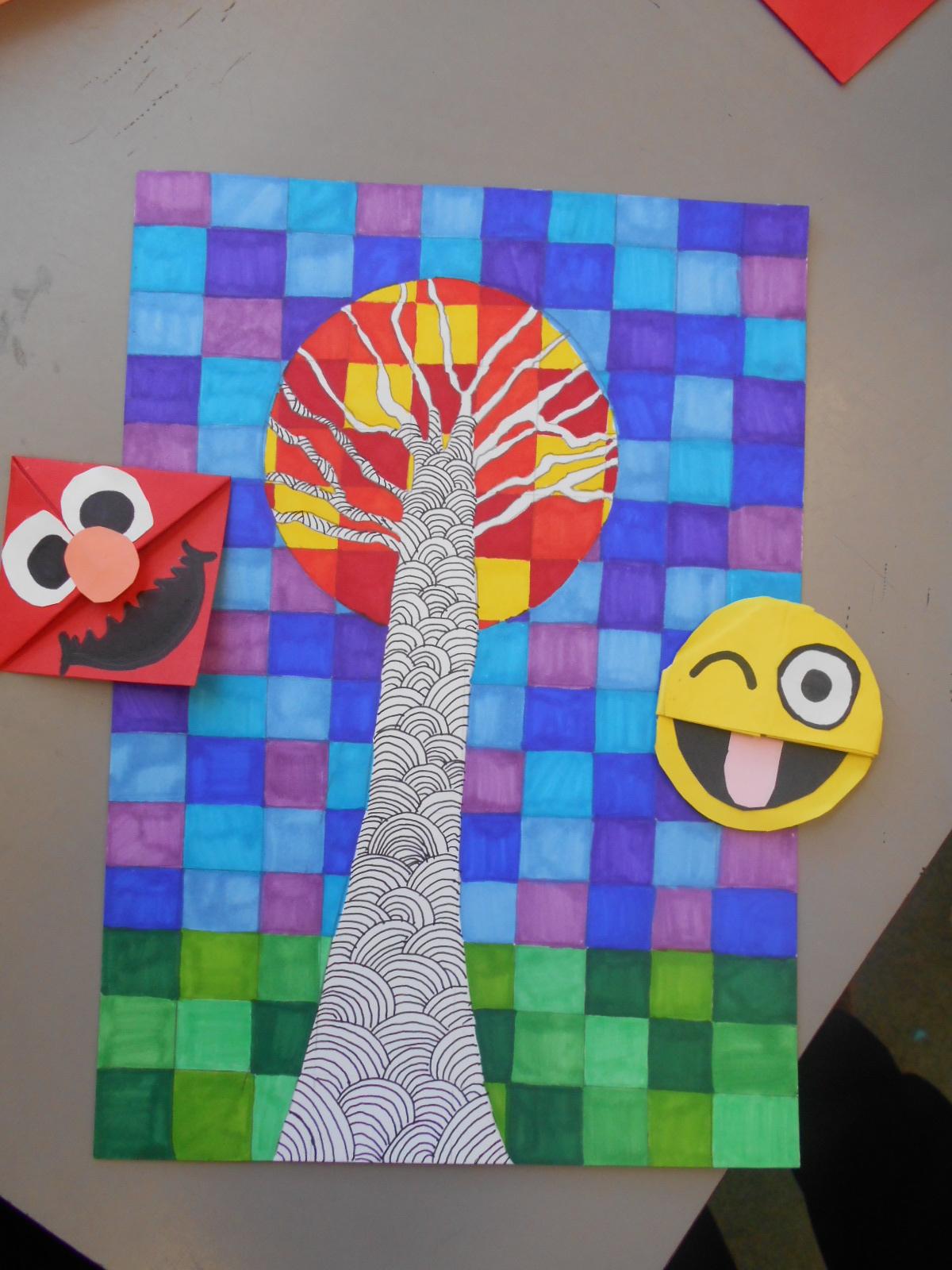 Bricks Amp Wood School Art Activities Corner Bookmarks And