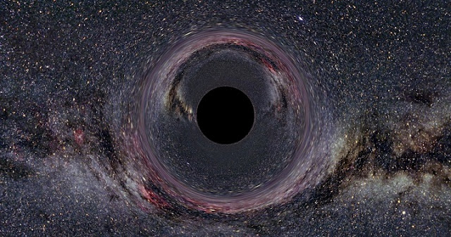 A black hole within the Milky Way Galaxy. Photo Credit: Wikimedia Commons