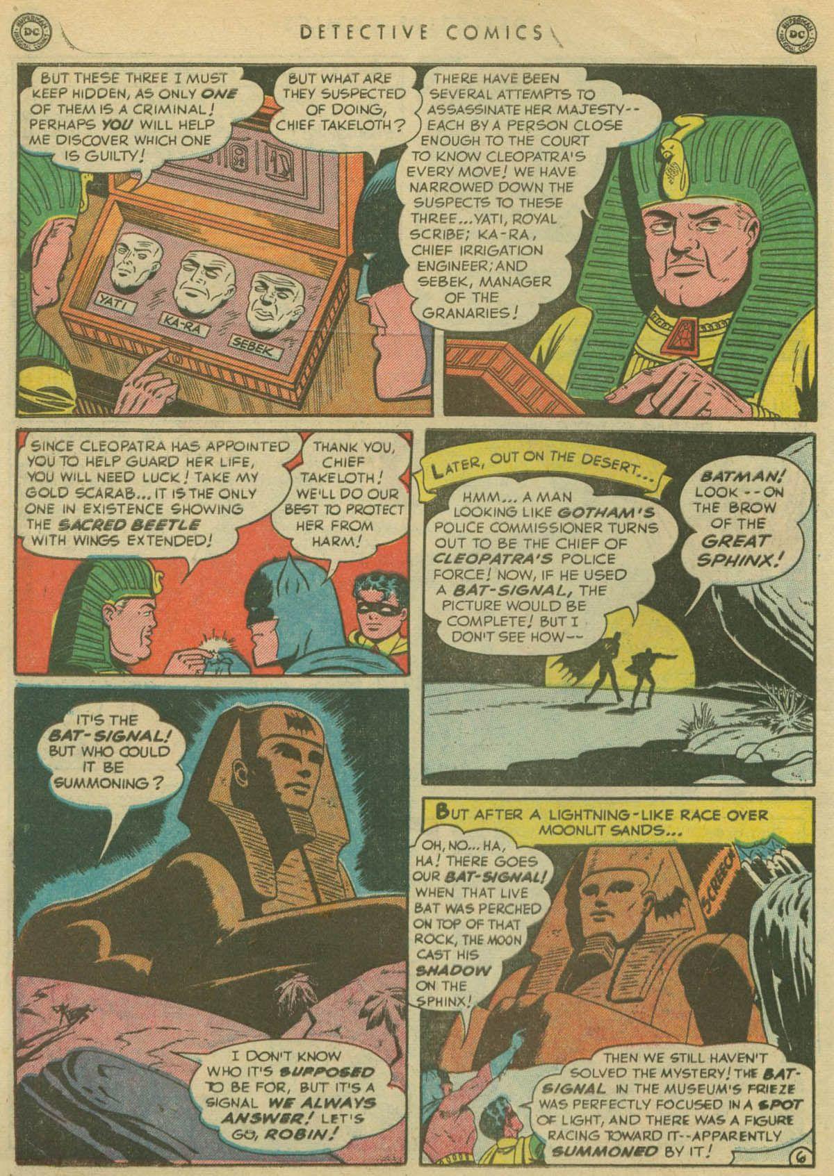 Detective Comics (1937) 167 Page 7