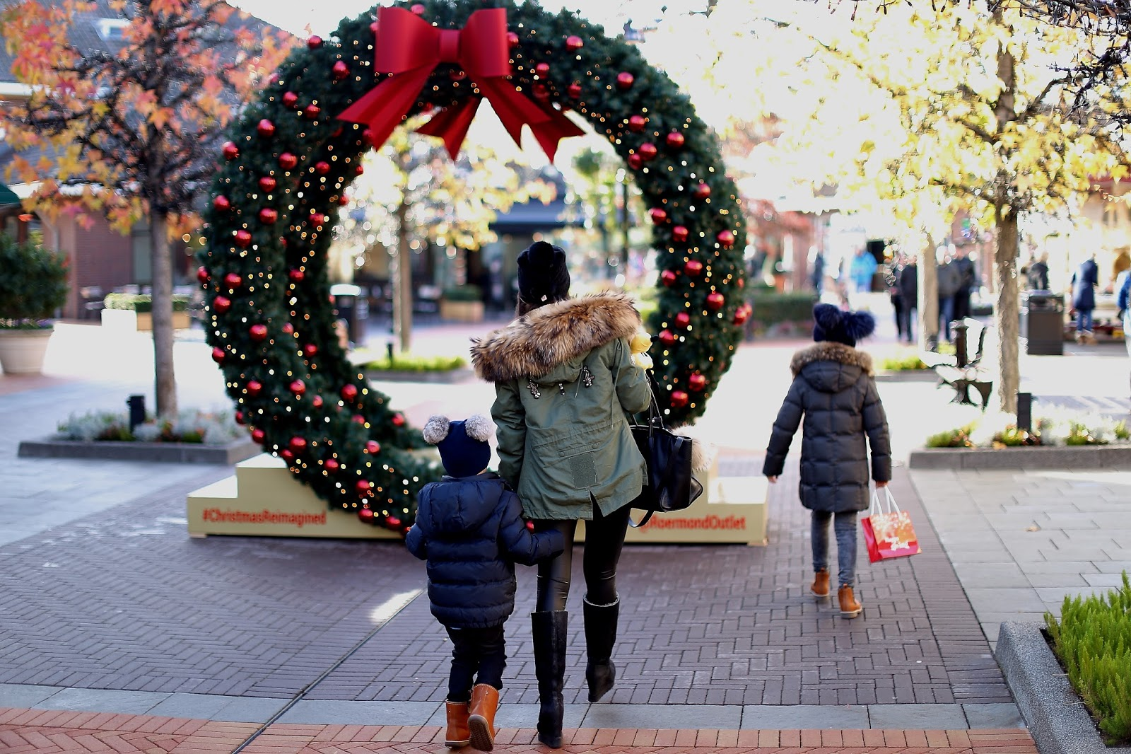 Weihnachtsshopping Im Designer Outlet Roermond Beauty Mami