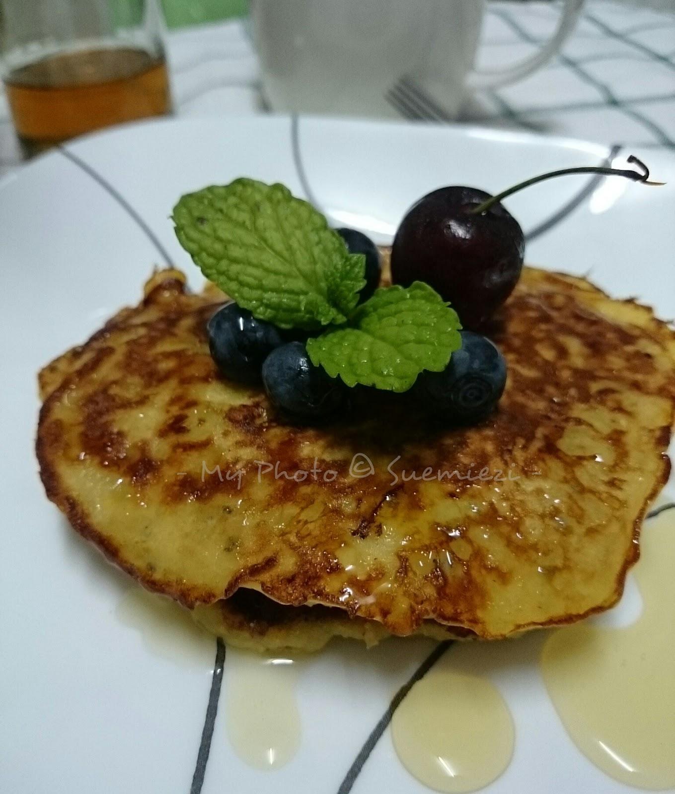 Resepi Pancake Oat Tanpa Susu - Soalan Mudah i