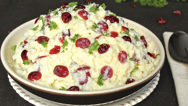 Cranberry Mashed Potatoes