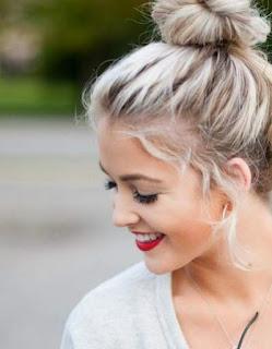 model-rambut-wanita-top-knot_21145