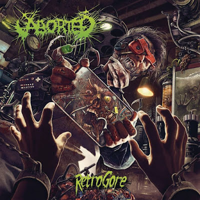 Aborted - Retrogore - cover album - 2016