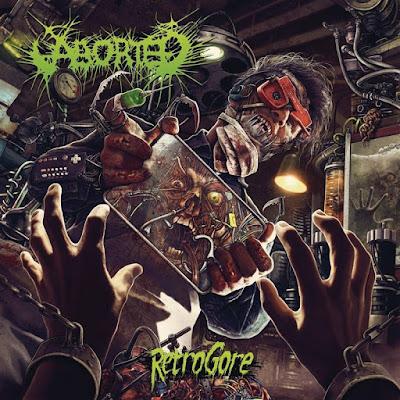 Aborted - Retrogore - cover album - 2016