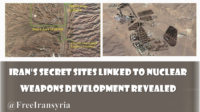 Iran's secret sites linked to nuclear weapons development revealed