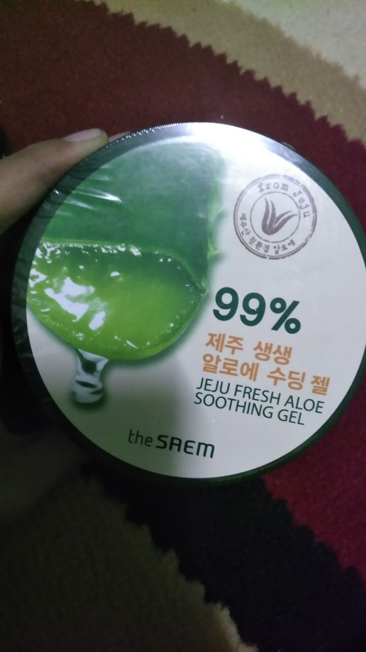 Review The Saem Jeju Fresh Aloe Vera Soothing Gel Shooting Kemasan Nya Sendiri Juga Sama Seperti Kebanyakan Yang Dalam Bentuk Jar Warna Hijau Bedanyajar Lebih Ke Tua