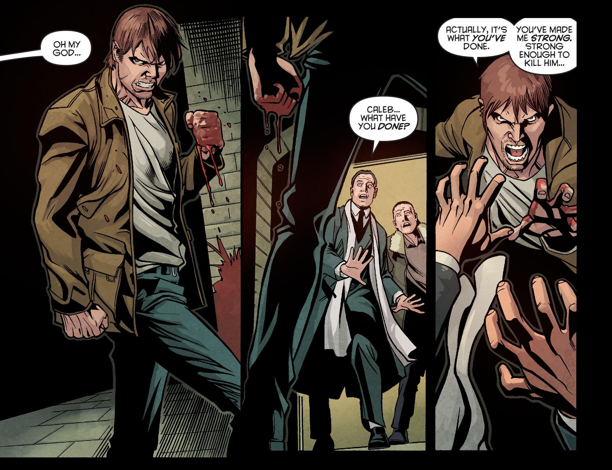 Read online Arrow: Season 2.5 [I] comic -  Issue #9 - 19